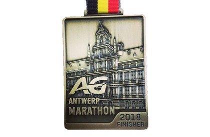 AG Antwerp Marathon Medaille