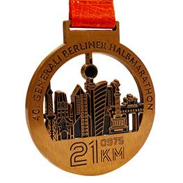 Antike Medaille Bronze