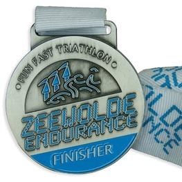 Triathlon Medaille Zeewolde Endurance