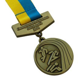 Medaille mit Band Träger