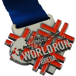 Charity Medaille Wings for Life World Run