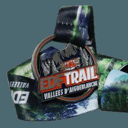 Trail Run Medaille EDF Trail