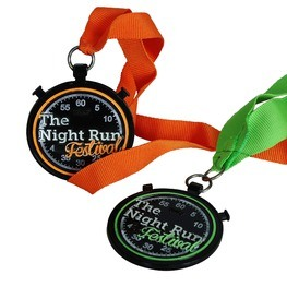 Night Run Medaille The Night Run Festival