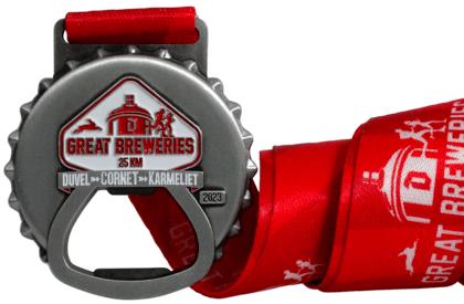 Medaille mit offene Elemente