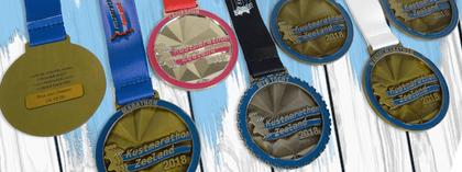 Kustmarathon Zeeland Medaillen