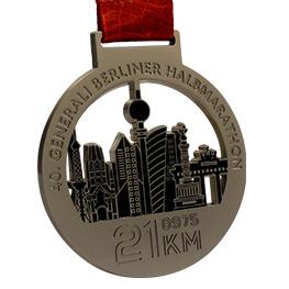 Matt Medaille Silber