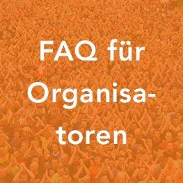 FAQ für Organisatoren