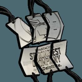 Spartacus Series Medaille Kordel