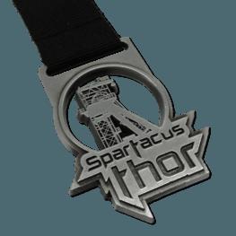 Hindernislauf Spartacus Thor Medaille