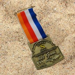 Kurzes Band wandelvierdaagse Het Gooi medaille